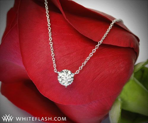 obsessed with the single diamond necklaces, i HAVE to have one someday