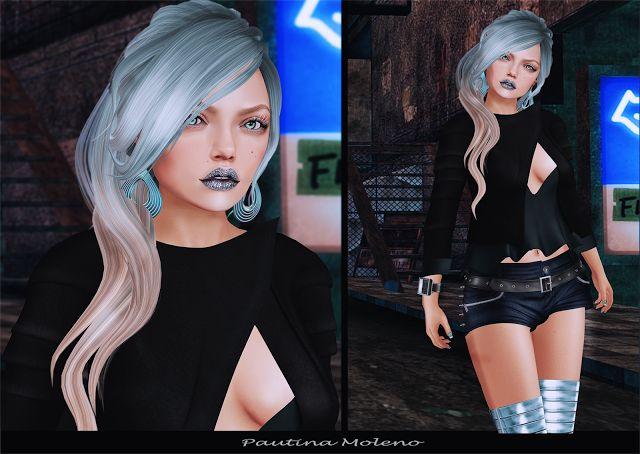 Spiderweb Second Life: Maxi Gossamer + WICKED + FashionNatic