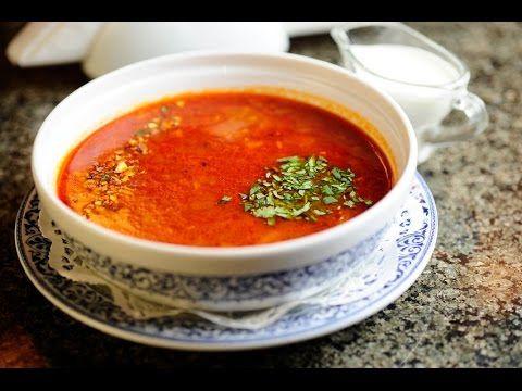 Настоящий грузинский суп Харчо рецепт приготовления - YouTube