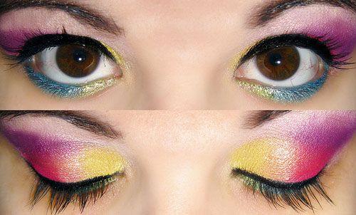 Картинки по запросу весенний макияж для карих глаз