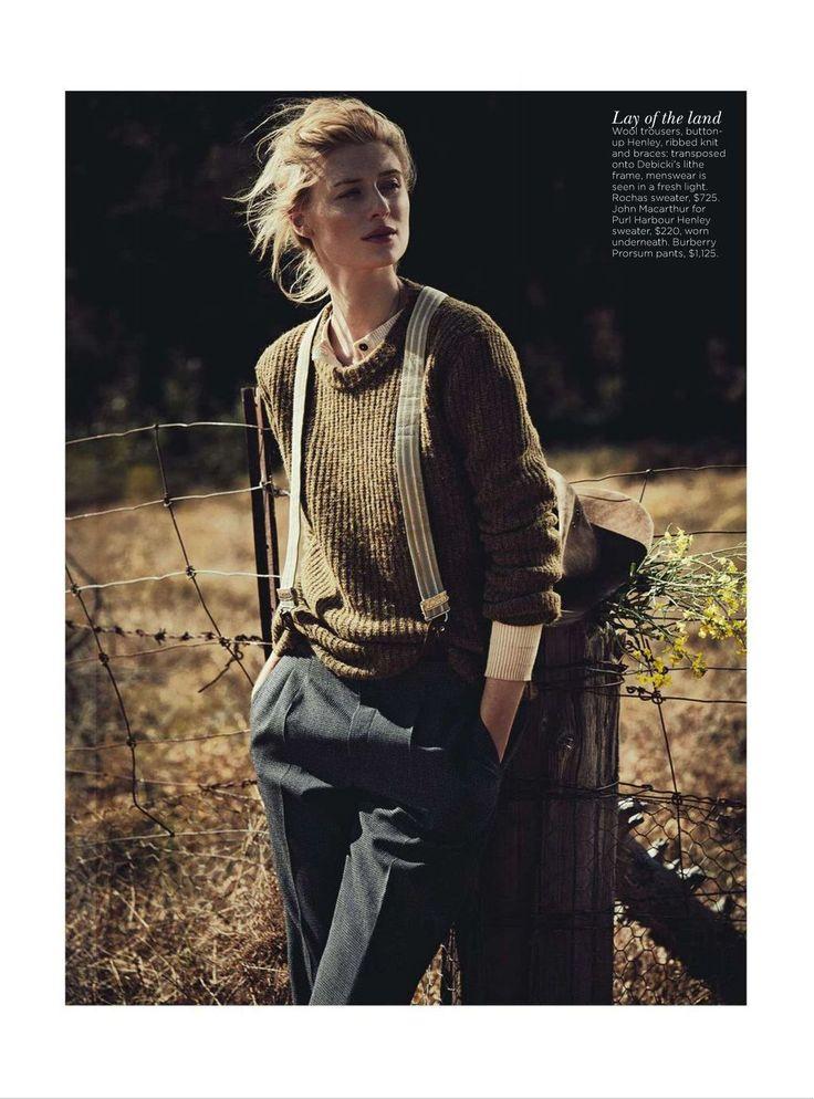 Vogue Australia  See You At Sundown  Model: Elizabeth Debicki  Photographer: Will Davidson  Fashion editor: Jillian Davison  Hair: Alan White  Make-up: Kellie Stratton