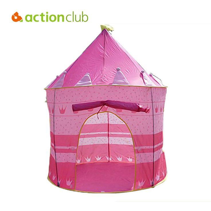 105X135 см Сверхбольших Детей Пляж Палатка, детские Игрушки Играть В Игру Дом, дети принцесса Замок в Помещении Открытый Игрушки Палатки HT2426