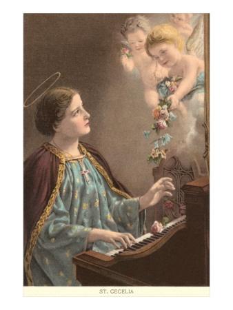 St. Cecelia     My patron Saint