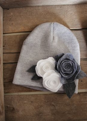 Live the felted flowers