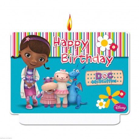 Vela Decorativa Doutoura Brinquedos