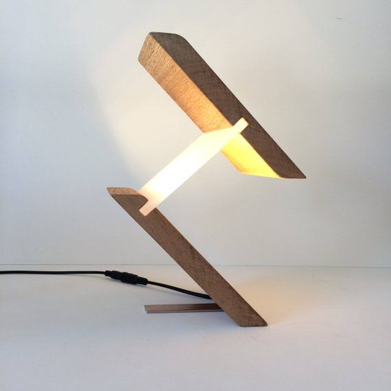 Modern Lamp Table Lamp Desk Light Home Office Unusual Abstract