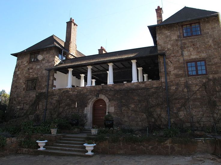 Stonehouse ; Sir Herbert Baker's own home in Johannesburg. My mom always wanted this house.