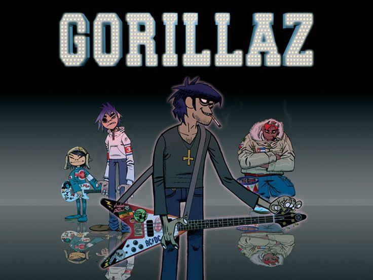 Desktop Wallpaper · Celebrities · Music · Gorillaz | Free ...