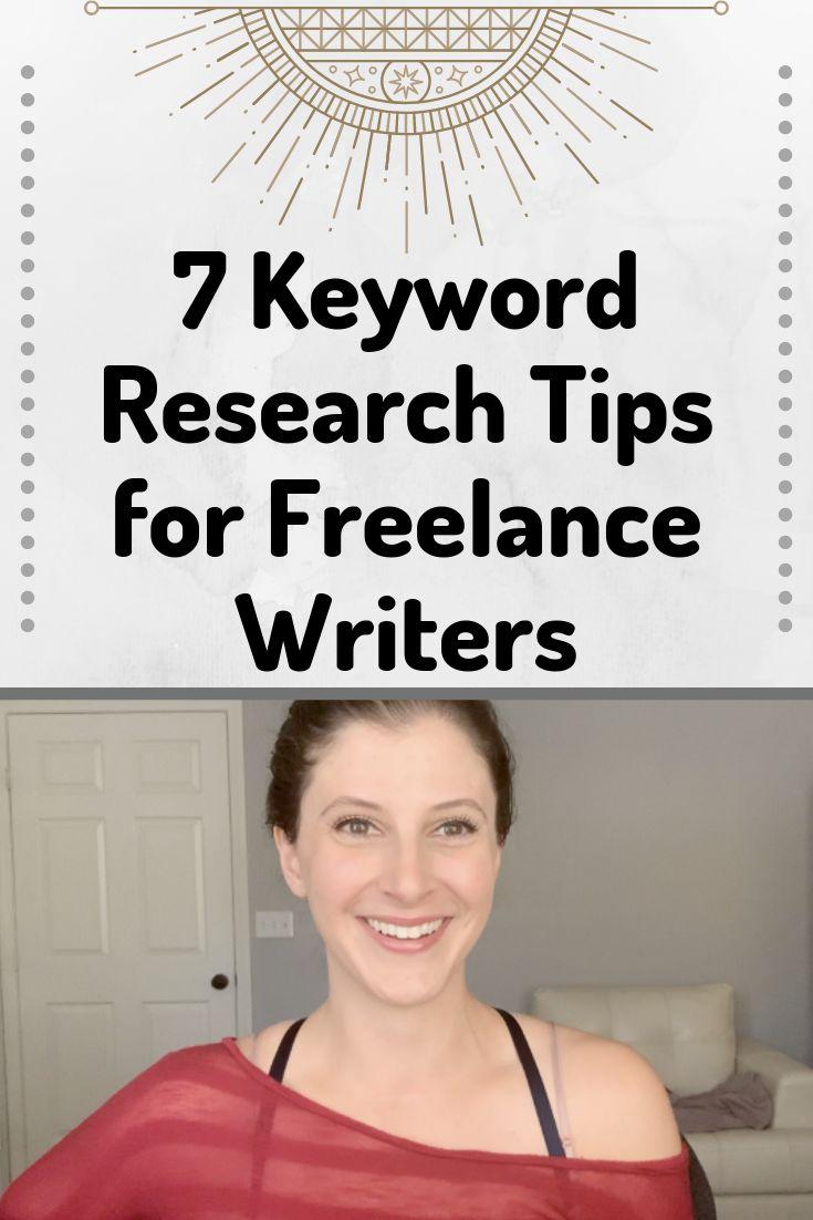 7 Tipps zur Keyword-Recherche für freiberufliche Autoren