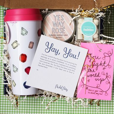 Giving a congraulations gift was never this fun or easy! Engagement? New Job? Graduation? Sending this present is the perfect way to celebrate every occasion.