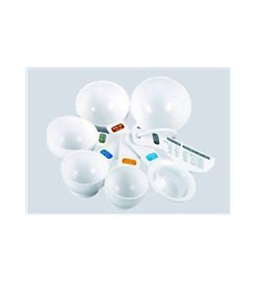 Fox Run Brands Measuring Cups, Set of 7 by Fox Run Craftsmen. $6.99. 7 piece measuring set. 1/4, 1/3, 1/2, 3/4 & 1 cup included. Great gift idea. Perfect basic measuring set. Also egg separator and leveler. 7 Piece Measuring Cup Set from Fox Run.  Set includes 1/4 cup, 1/3 cup, 1/2 cup, 3/4 cup, and 1 cup; an egg separator and leveller.  A perfect set for any cook.  Great gift idea.