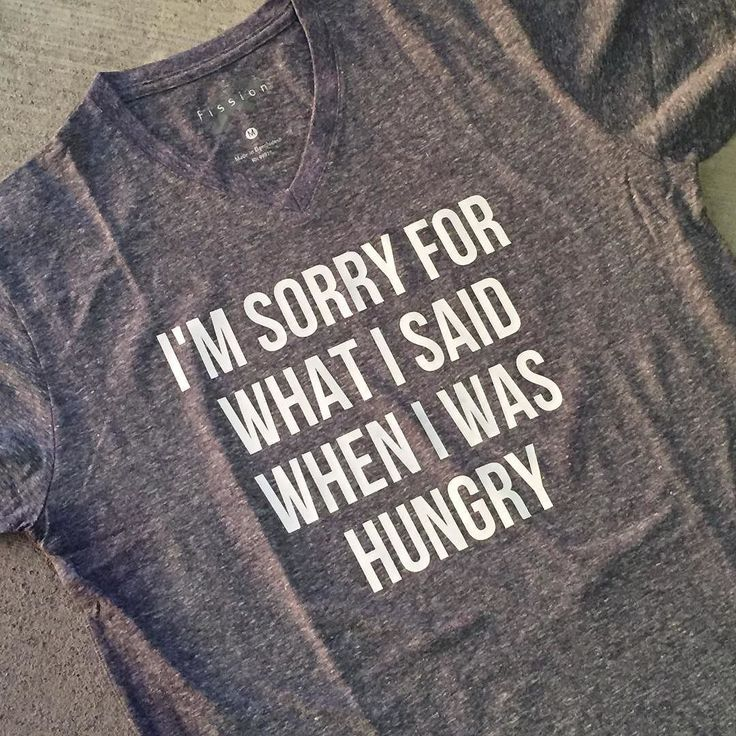 Just whipping up a shirt to apologize to my family... I get hangry.  #hangry