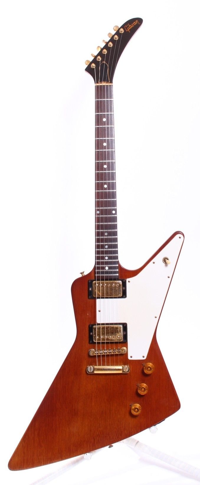 Yeahman's Vintage And Used Guitars - 1976 Gibson Explorer Limited Edition - Natural