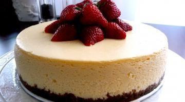 ...Cheesecake – tvarohový koláč s vanilkou | Recepty a varenie ✿ ☻ ☺