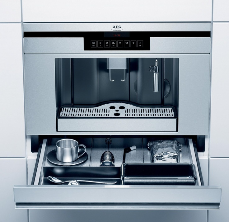 AEGElectrolux PE3810M fully integrated coffee maker