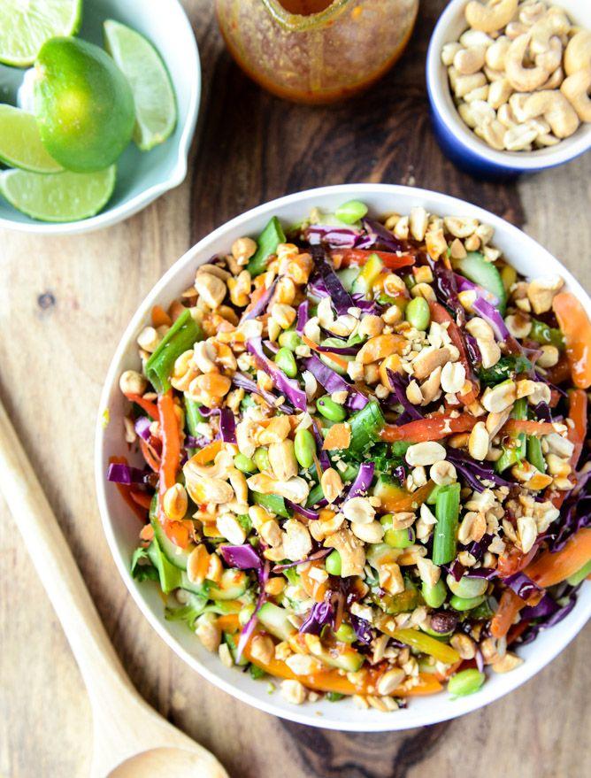 cheap heels online Thai Brussels Crunch Salad