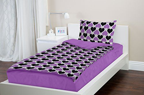 Zipit Bedding Set Twin Extra Long Xl College Bedding