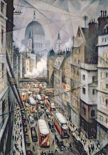 C. R. W. Nevinson, Amongst the Nerves of the World, 1930 (London)