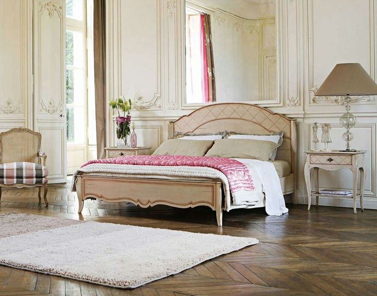 double wooden bed collonges bed roche bobois bedroom. Black Bedroom Furniture Sets. Home Design Ideas