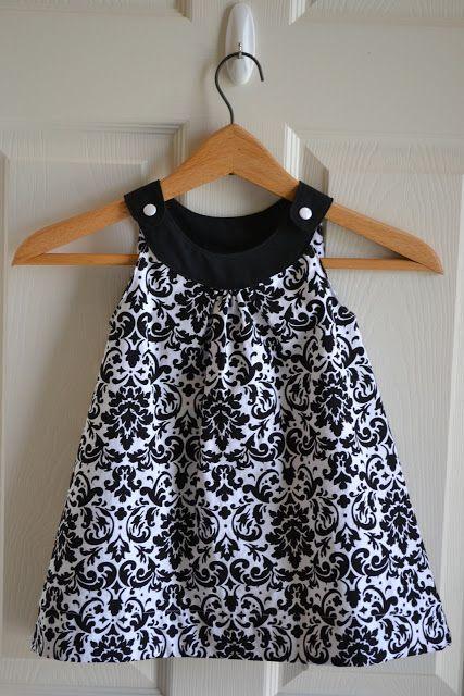 Little Quail: Snappy Toddler Dress. This looks like Lorelei @Meagan Finnegan Doran