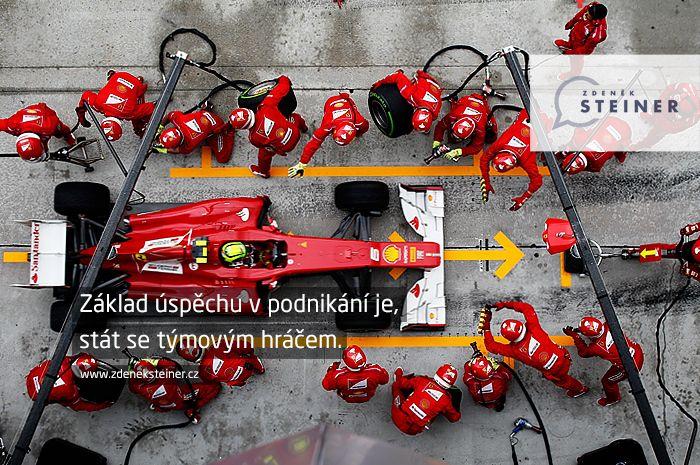 CITÁT ♕ PODNIKÁNÍ Základ úspěchu v podnikání je, stát se týmovým hráčem. www.steinermedia.cz