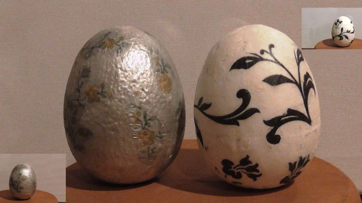 This video presents how to decorate Styrofoam eggs with glue, silver tempera and paper towels (decoupage). Αυτό το βίντεο παρουσιάζει πως διακοσμώ αυγά από φελιζόλ με κόλλα, ασημί τέμπερα και χαρτοπετσέτες (ντεκουπάζ).