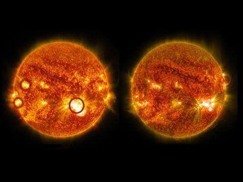 La mayor mancha solar en 24 años genera una ola de erupciones sin precedentes. - Una enorme región del Sol ha emitido en los últimos días una docena de llamaradas, algunas de ellas de máxima potencia, que tienen en vilo a los científi...