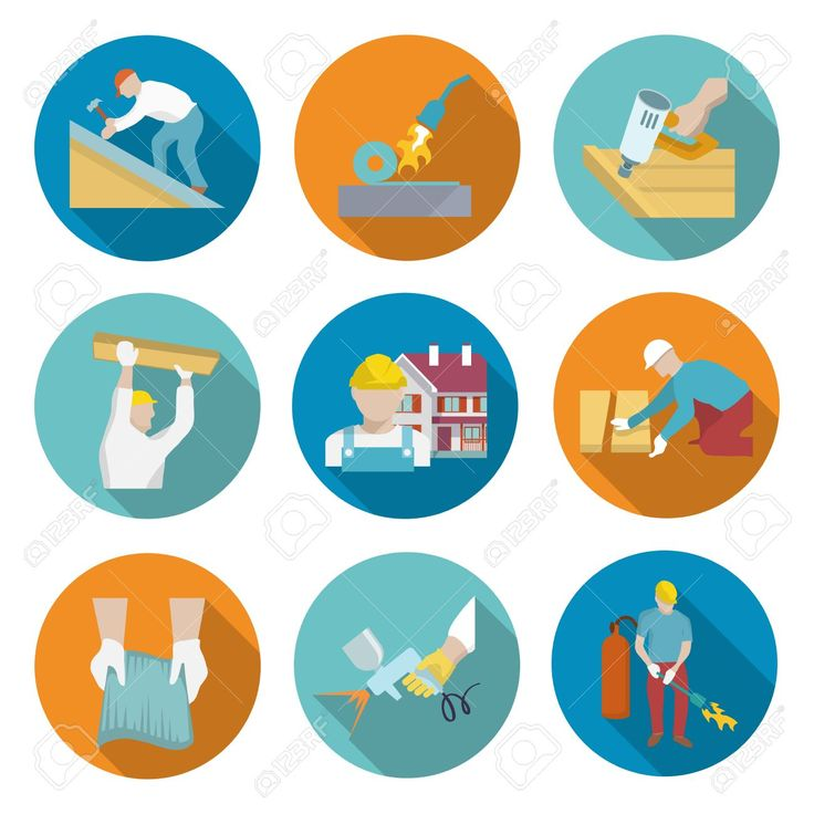 29454698-Roofer-profession-house-improvement-long-shadow-round-button-icons-set-isolated-vector-illustration-Stock-Vector.jpg (1299×1300)