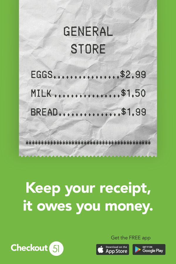 Checkout 51 is the free app that gives you Cash Back for the groceries you already buy every week. Whether you are trying out a new recipe for Thanksgiving, planning a dinner party, or just restocking the fridge with daily essentials (cereal, veggies, crackers, cleaning supplies etc). Simply download the app, browse the offers, upload your receipts, and get Cash Back. Once you reach $20 in savings you can cash out. Say goodbye to couponing and hello to Checkout 51!