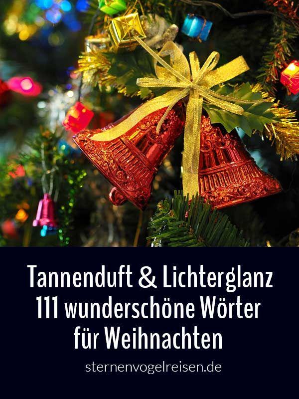 111 wunderschöne Wörter für Weihnachten – mit Tannenduft ...