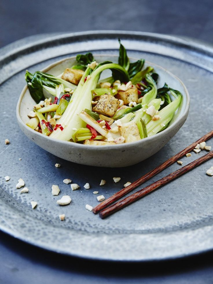 Cashew & Tofu Stir Fry | Vegetable Recipes | Jamie Oliver