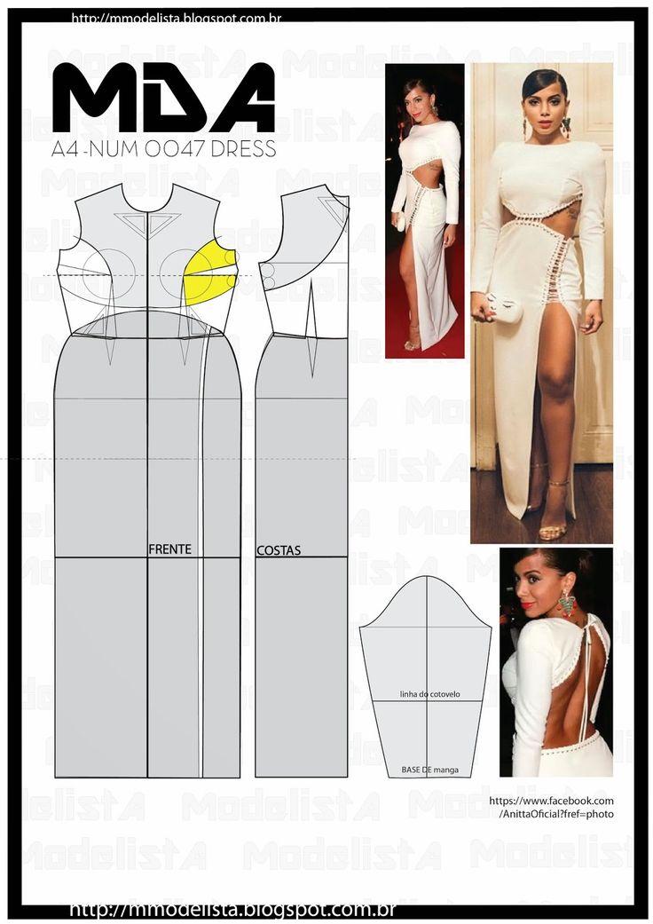 ModelistA: A4 NUM 0047 DRESS