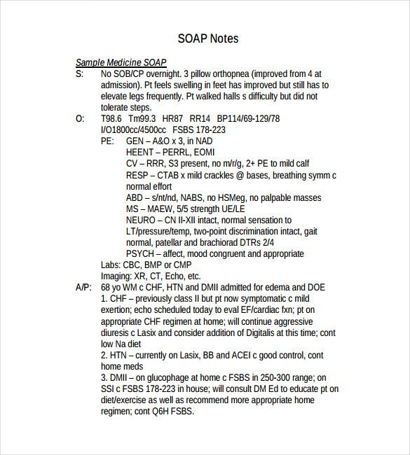 soap notes example counseling xv-gimnazija