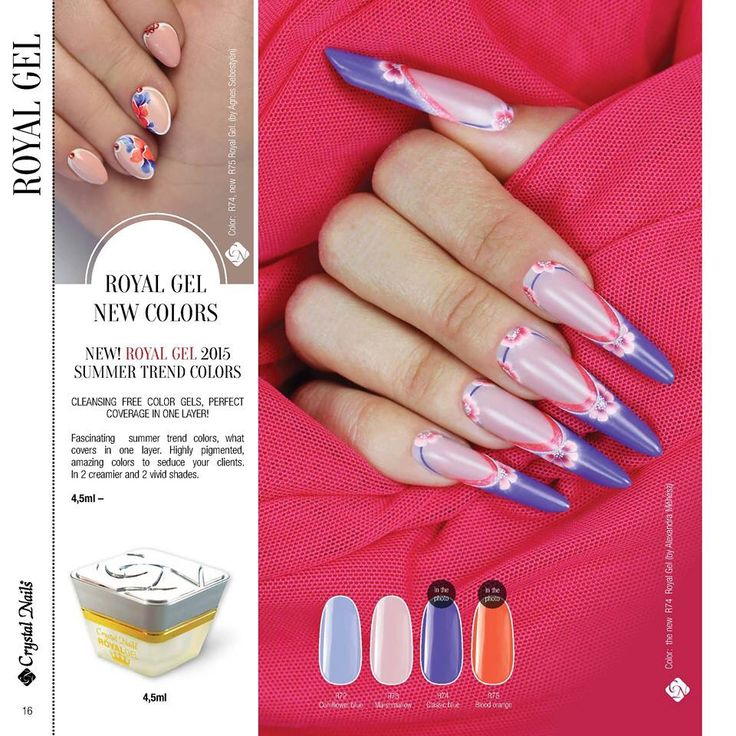 Best 100+ Crystal Nails Products and Designs images on Pinterest ...