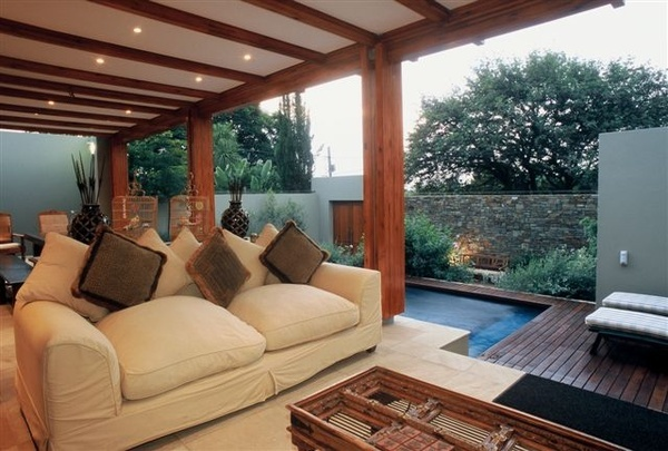 Art tropical living room terrace modern house design ideas architecture