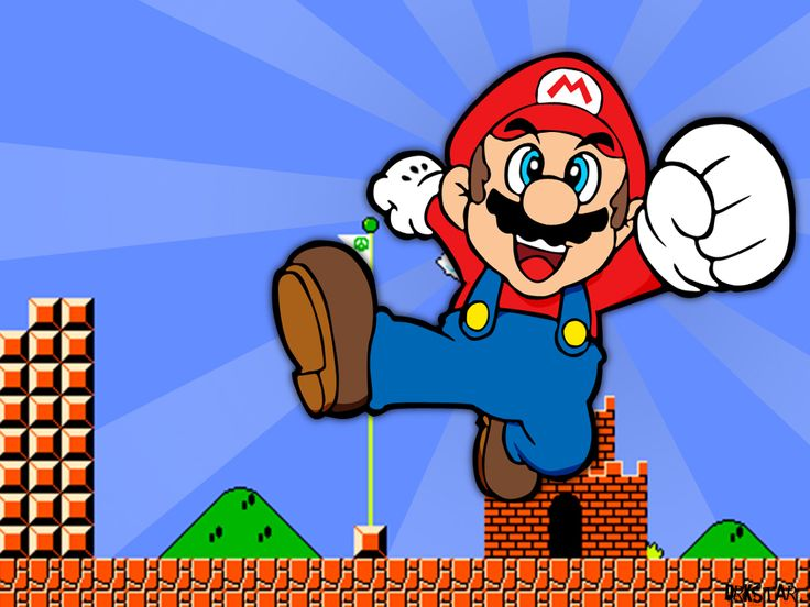 Top 100 Video Games of All Time 1 - Super Mario Bros. http://player1gamereviews.blogspot.com/2012/11/top-100-video-games-of-all-time-1-super.html
