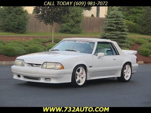 1988 Ford Mustang Lx Saleen Convertible 12 Many Extras In 2020 Mustang Lx Mustang Ford Mustang