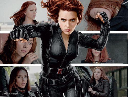 Hail, Scarlett Johansson! - visit to grab an unforgettable cool 3D Super Hero T-Shirt!
