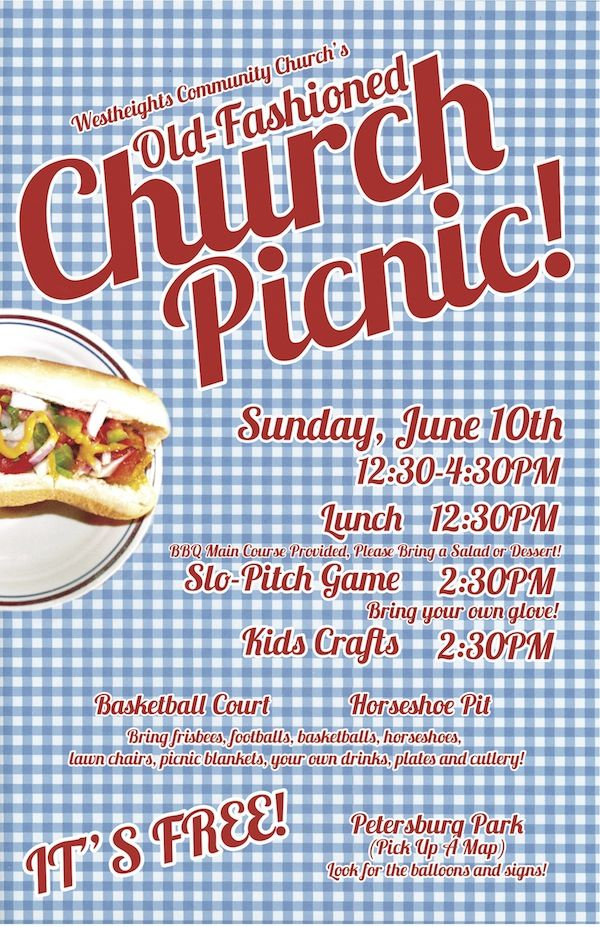 children's old fashioned games | Annual Old Fashioned Church Picnic