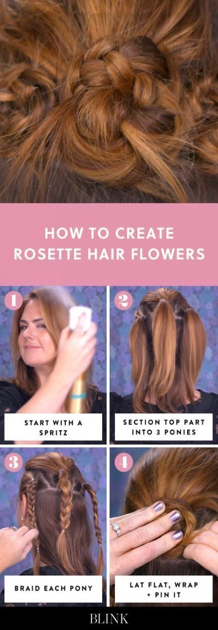 26 super Ideas for flowers crown hairstyle ponytail