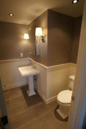 Master Bath Contrasting Colors Baths Pinterest: contemporary bathroom colors
