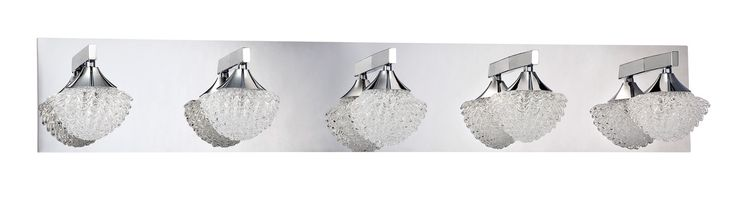 Icicle 5 Light Bath Vanity Light