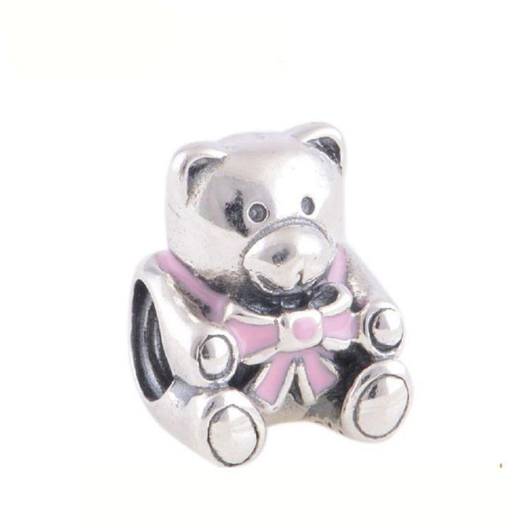 Enamel Teddy Bear