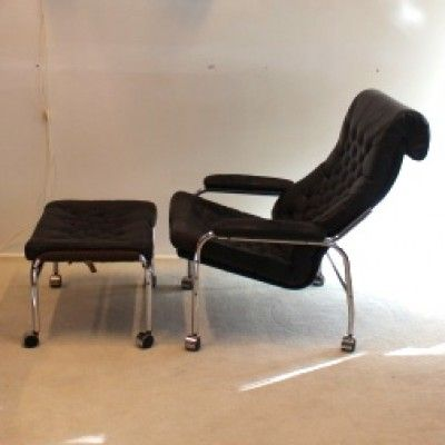 Lounge Chair from the sixties by Bruno Mathsson for Dux