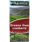 Groene thee cranberry eko