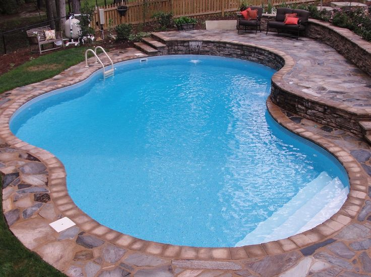 17 best ideas about pool liners on pinterest lagoon pool gunite pool and swimming pools for Swimming pool supplies raleigh nc