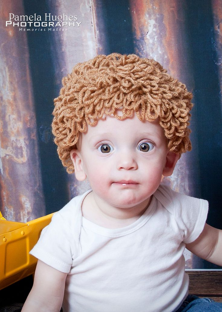 For gavin Cabbage Patch Hat by NMJCrochetCreations on Etsy