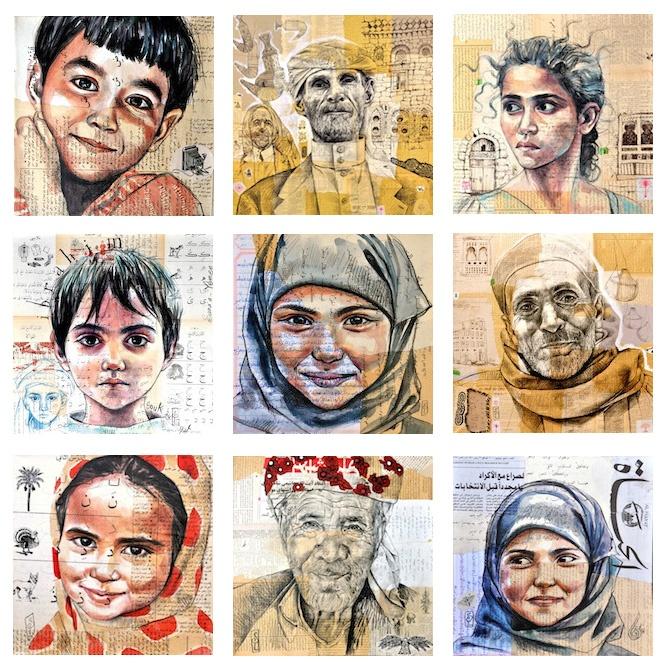 Les carnets de voyage de Stéphanie Ledoux: Nouveau voyage... Yemen