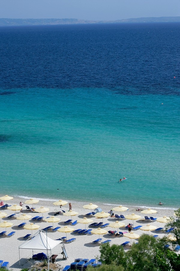 Pallini Beach, Halkidiki, Greece