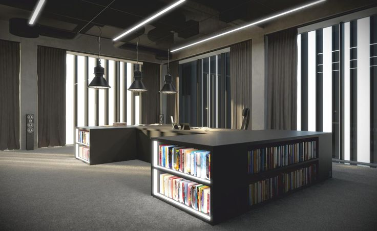 Office interiors design by ELD Poland